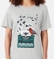 Alphabet de la vie T-shirt ajusté