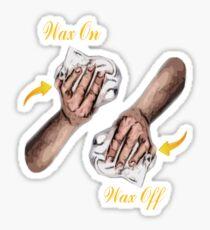 Wax On... Sticker