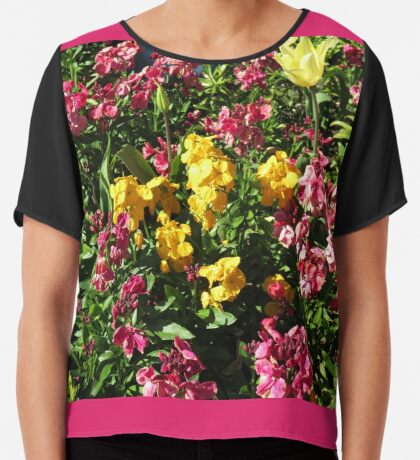 Flowerbed - Preston Temple Chiffontop