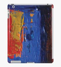 Red Blue and Yellow  iPad Case/Skin