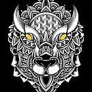 Ornate Buffalo by GODZILLARGE