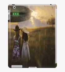 UFO Pop Art iPad Case/Skin