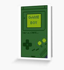 Retro Game Boy Greeting Card