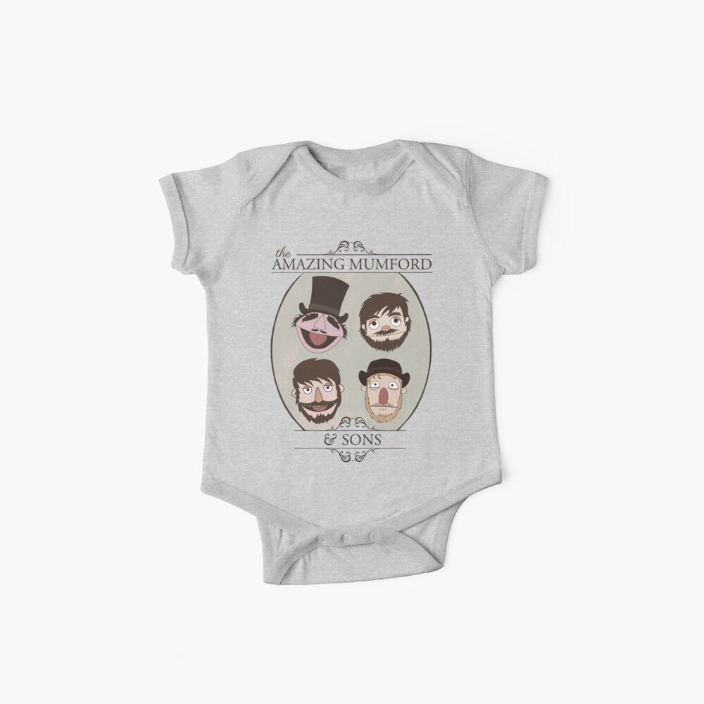The Amazing Mumford and Sons Baby One-Pieces