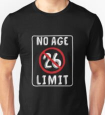 No Age Limit 26th Birthday Gifts Funny B Day For 26 Year Old Slim Fit