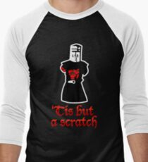 Tis But A Scratch Men's Baseball ¾ T-Shirt