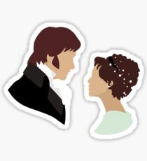 Pride and Prejudice Art Sticker