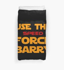 Force of Two Worlds (Text Only) Duvet Cover