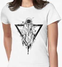 Cool Astronaut  Women's Fitted T-Shirt