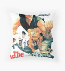 The Young Master Throw Pillow