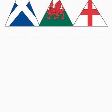 3 peaks flag by sambo999