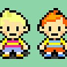Lucas and Claus - Mother 3 by Studio Momo ╰༼ ಠ益ಠ ༽