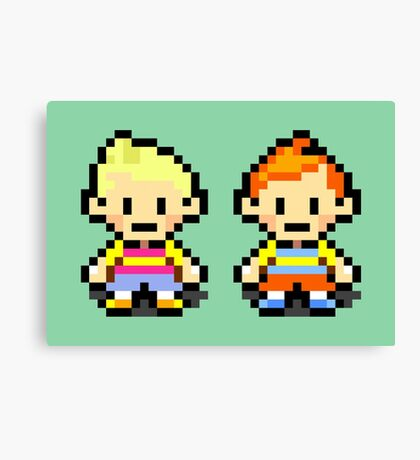 Lucas and Claus - Mother 3 Canvas Print