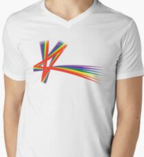 K Pride Men's V-Neck T-Shirt