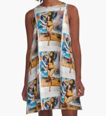 Goddess A-Line Dress