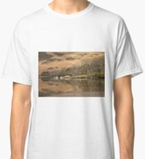 Sunlit trees at Crummock water Classic T-Shirt