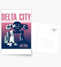 ROBOCOP - DELTA CITY ED-209 Postcards
