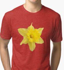 Yellow Daffodil Tri-blend T-Shirt