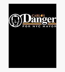 Carlos Danger For Mayor Photographic Print
