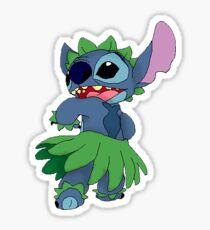 Hula Stitch Sticker