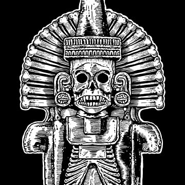 Mictlantecuhtli: Aztec Death God  by ZugArt