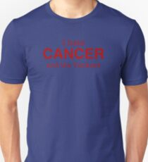 I hate CANCER and the Yankess Unisex T-Shirt