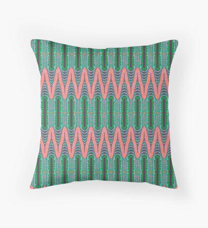 CHRYSLER BUILDING - Neon Pink & Green Floor Pillow