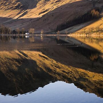 Sun kissed Buttermere by AngiNelson