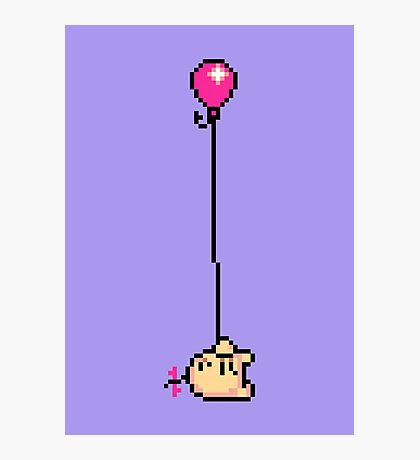 Fishing for Birdies (Mr. Saturn) - Mother 3 Photographic Print