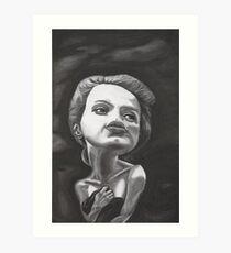 An Experiment In Noselessness Mk II Art Print