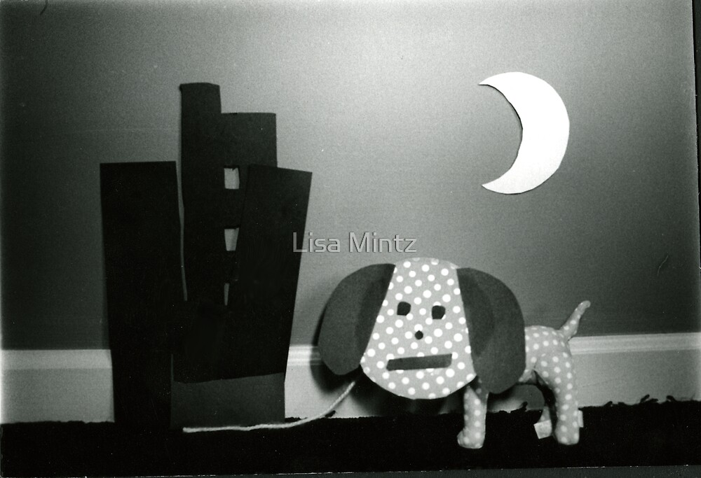 Dog and the Crecent Moon by Lisa Mintz