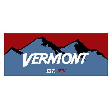 Vermont Mountains by AdventureFinder