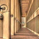 Walkway To The Temple by Jack DiMaio
