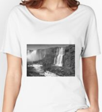 Iguazu in Monochrome Women's Relaxed Fit T-Shirt