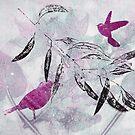 Garden Series 11 Monoprint by FayeDoherty