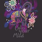 Calm Your Mind #Winter by INKfootprints