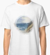 At the sea I Baltic sea beach watercolor Classic T-Shirt