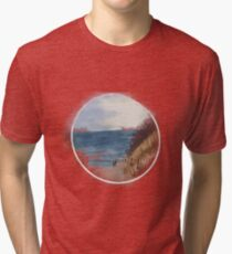 Am Meer  I Ostsee Strand Aquarell Vintage T-Shirt