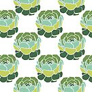 Cactus Plant Pattern by Twosided