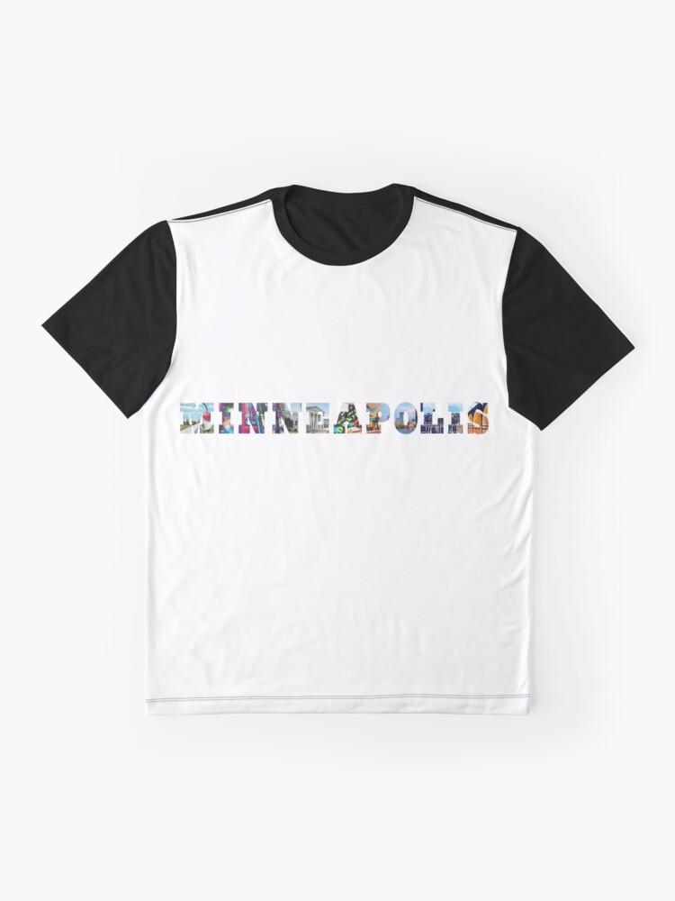 Alternate view of Minneapolis Graphic T-Shirt