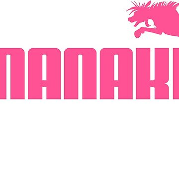 Nanaki Sports - shock pink by roydgriffin