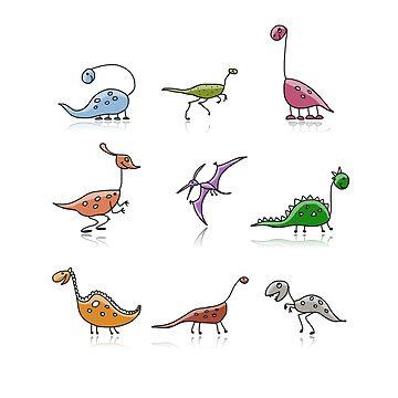 dinosaur by Kudryashka