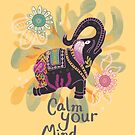 Calm Your Mind #Summer by INKfootprints