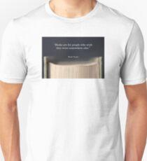 Mark Twain Book Quote Unisex T-Shirt