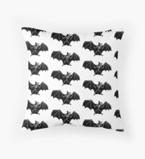 Bat Anatomy Throw Pillow