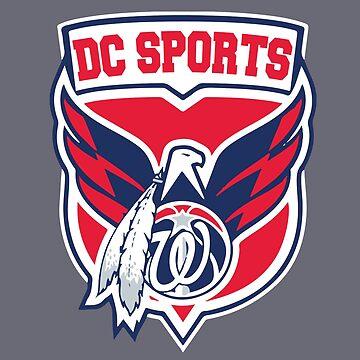 Washington DC Sports Nation by mymainmandeebo