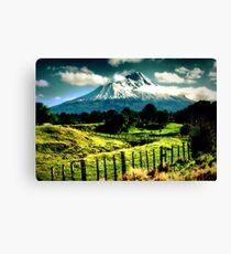 Mt Taranaki Canvas Print