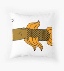 Fish fingers Throw Pillow