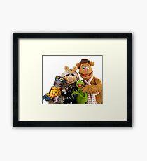Muppet quartet Framed Print