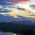 Manning River Twilight by picketty
